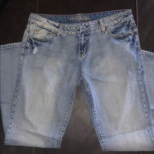 AE women's flare jeans NWOT!